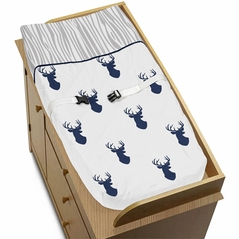 Baby Changing Pad Cover for Woodland Deer Collection by Sweet Jojo Designs