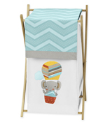 Baby/Kids Clothes Laundry Hamper for Balloon Buddies Bedding by Sweet Jojo Designs