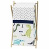 Baby/Kids Clothes Laundry Hamper for Blue and Green Mod Dinosaur Bedding by Sweet Jojo Designs