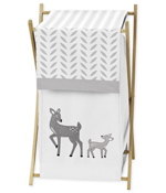 Baby/Kids Clothes Laundry Hamper for Forest Deer and Dandelion Bedding by Sweet Jojo Designs