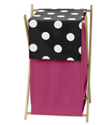 Baby/Kids Clothes Laundry Hamper for Hot Dot Bedding by S...