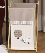 Baby/Kids Clothes Laundry Hamper for Little Lamb Bedding by Sweet Jojo Designs