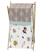 Baby/Kids Clothes Laundry Hamper for Outdoor Adventure Bedding