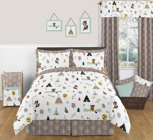 Outdoor Adventure Nature 3pc Full Queen Bedding Set Only