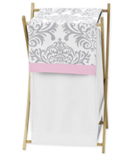 JoJo Designs Baby/Kids Clothes Laundry Hamper for Pink, G...