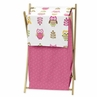 Baby/Kids Clothes Laundry Hamper for Pink Happy Owl Bedding by Sweet Jojo Designs