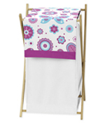 Baby/Kids Clothes Laundry Hamper for Spring Garden Bedding by Sweet Jojo Designs