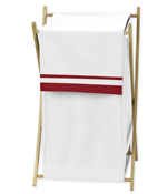 Baby/Kids Clothes Laundry Hamper for White and Red Hotel Bedding by Sweet Jojo Designs
