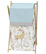 Baby/Kids Clothes Laundry Hamper for Woodland Animal Toile Bedding by Sweet Jojo Designs