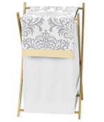 Baby/Kids Clothes Laundry Hamper for Yellow and Gray Avery Bedding by Sweet Jojo Designs