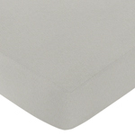 Fitted Crib Sheet for Safari Outback Baby/Toddler Bedding by Sweet Jojo Designs - Gray