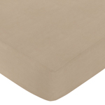 Fitted Crib Sheet for Safari Outback Baby/Toddler Bedding by Sweet Jojo Designs - Taupe