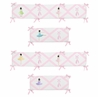 Ballerina Collection Crib Bumper by Sweet Jojo Designs