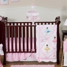 Ballet Dancer Ballerina Baby Bedding - 11pc Crib Set