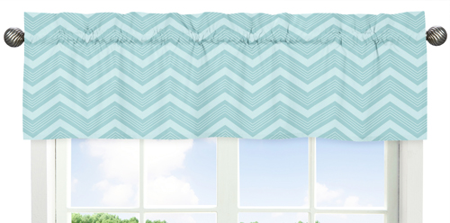 JoJo Designs Balloon Buddies Window Valance Valance-BalloonBuddies