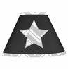 Black and Gray Chevron Zig Zag Lamp Shade by Sweet Jojo Designs