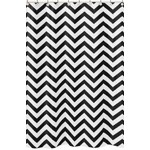 JoJo Designs Black and White Chevron Zig Zag Kids Bathroo...
