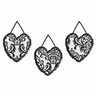 Black and White Isabella Wall Hanging Accessories by Sweet Jojo Designs