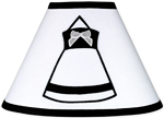 Black and White Princess Lamp Shade by Sweet Jojo Designs