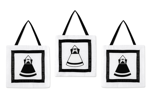 Black and White Princess Wall Hanging Accessories by Swee...