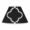 Black and White Trellis Lamp Shade by Sweet Jojo Designs