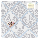 JoJo Designs Blue and Gray Avery Fabric Memory/Memo Photo...