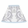 Blue and Gray Avery Lamp Shade by Sweet Jojo Designs