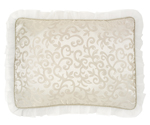 Champagne and Ivory Victoria Pillow Sham by Sweet Jojo Designs