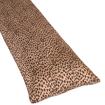 Cheetah Animal Print Full Length Double Zippered Body Pillow Cover