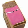 Cheetah Girl Pink and Brown Changing Pad Cover