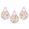 Circles Pink and Green Modern Wall Hanging Accessories by Sweet Jojo Designs