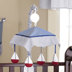 Come Sail Away Nautical Musical Crib Mobile