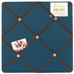 Construction Zone Fabric Memory/Memo Photo Bulletin Board
