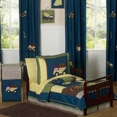 Construction Zone Toddler Bedding - 5 pc Set