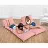 Coral Kids Teen Floor Pillow Case Lounger Cushion Cover by Sweet Jojo Designs