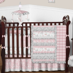 Country Chic Baby Bedding - 9 pc Crib Set by Sweet Jojo Designs