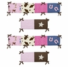 Cowgirl Collection Crib Bumper by Sweet Jojo Designs