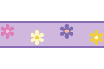 Danielle�s Daisies Baby, Childrens and Teens Wall Border by Sweet Jojo Designs