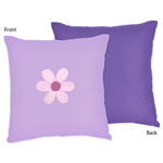 Danielle's Daisies Decorative Accent Throw Pillow by Swee...