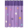 Danielle's Daisies Kids Bathroom Fabric Bath Shower Curtain