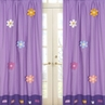 Danielle's Daisies Window Treatment Panels - Set of 2