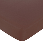 Deco Dot Fitted Crib Sheet for Baby/Toddler Bedding - Chocolate Brown