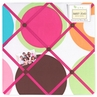 Deco Dot Modern Fabric Memory/Memo Photo Bulletin Board
