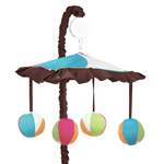Deco Dot Musical Baby Crib Mobile by Sweet Jojo Designs