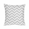 Decorative Accent Throw Pillow for Pink and Gray Chevron Zig Zag Bedding Collection by Sweet Jojo Designs