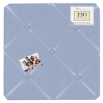 Denim Fabric Memory/Memo Photo Bulletin Board by Sweet Jojo Designs