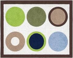 Designer Dot Modern Accent Floor Rug by Sweet Jojo Designs
