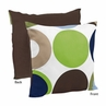 Designer Dot Modern Decorative Accent Throw Pillow by Sweet Jojo Designs
