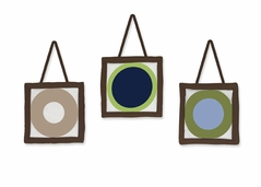 Designer Dot Modern Wall Hanging Accessories by Sweet Jojo Designs
