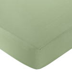 Dinosaur Fitted Crib Sheet for Baby and Toddler Bedding Sets by Sweet Jojo Designs - Solid Green